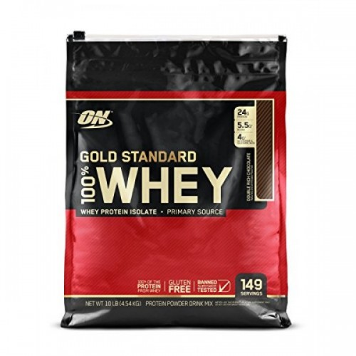 Протеин Optimum Nutrition 100% Whey Gold Standard 4.54 кг Double Rich Chocolate